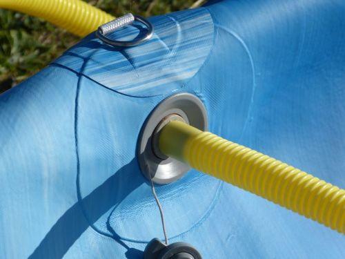 Attaching the hose