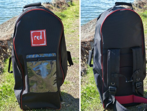 Red Air Backpack