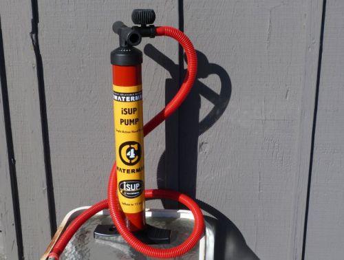 New slim-barrel hi-pressure single action pump