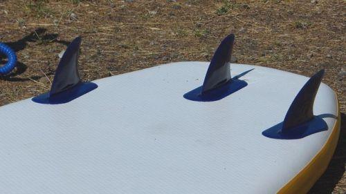 Three integrated thruster fins