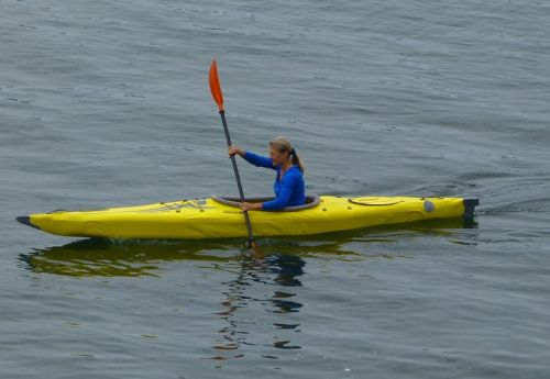 Paddling the AirFusion Elite