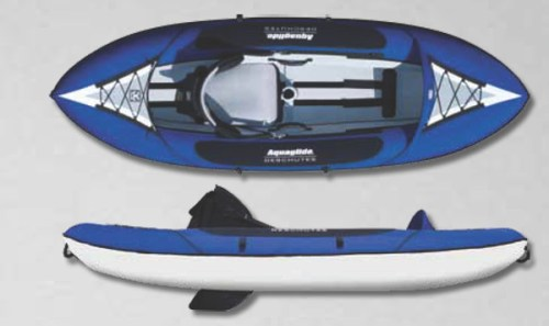 New Deschutes One HB Inflatable Kayak from Aquaglide