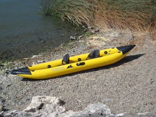 New 14 ft Conquest Vista Inflatable Kayak