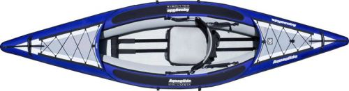 Birdseye view of the Columbia One HB inflatable kayak