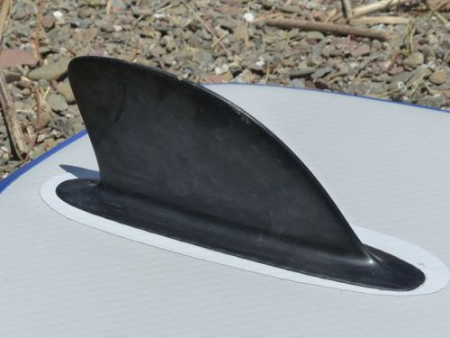 Integrated tracking fin.