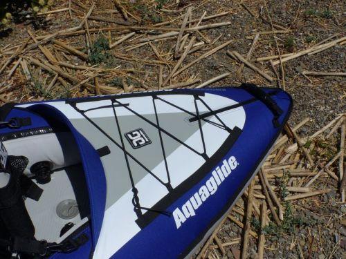 Rear bungee deck lacing