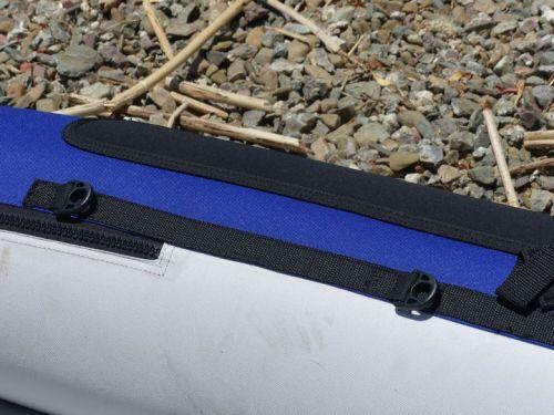 Side d-rings and velcro paddleholders