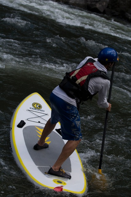 New C4 Waterman River Pro Opae inflatable SUP