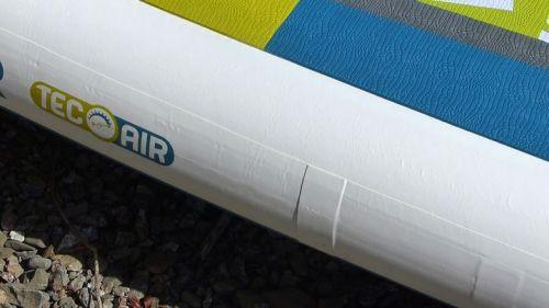 Quadruple-taped side rails.