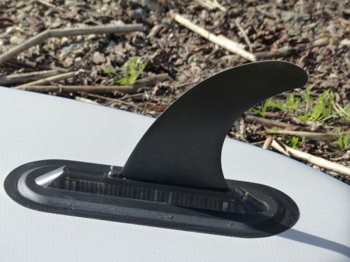 Removable deep water tracking fin