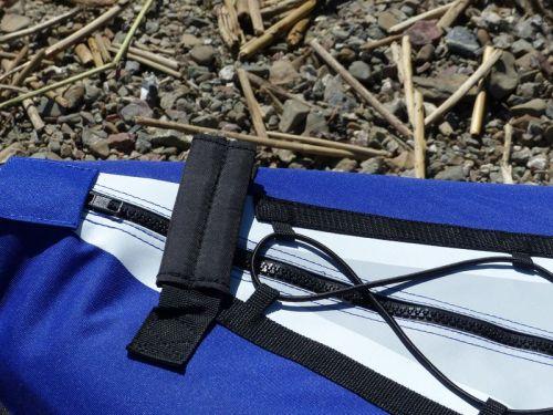 Padded cloth handles