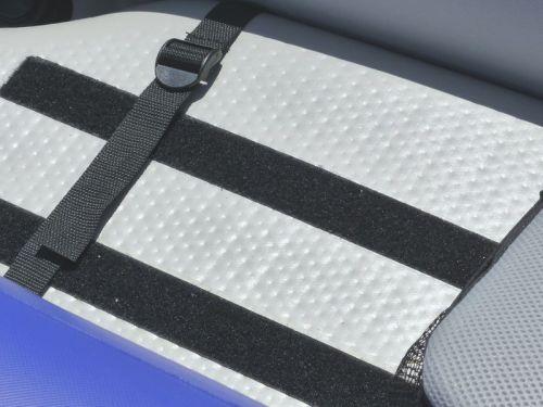 Velcro floor strips