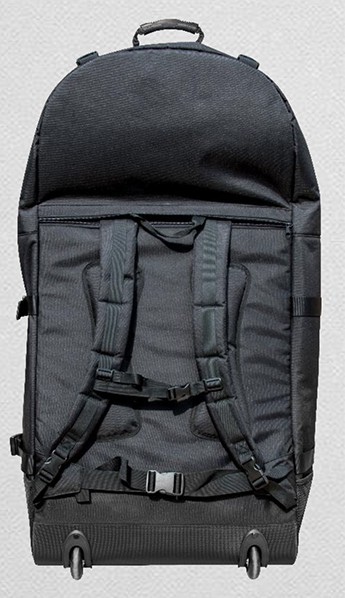 New Crossover backpack with roller wheels