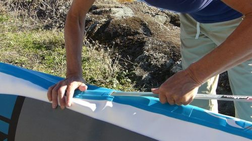 Inserting the RSS battens