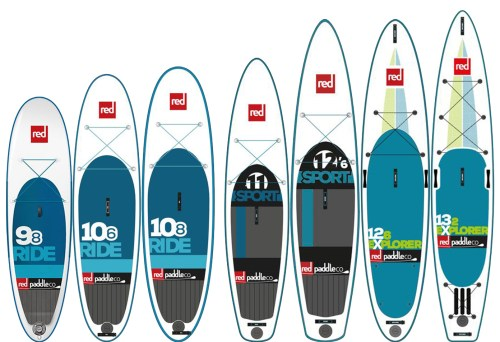 2016 Red Paddle Co Recreational Paddle Boards