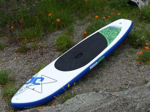 "AquaGlide Cascade 11'0"" inflatable paddle board"