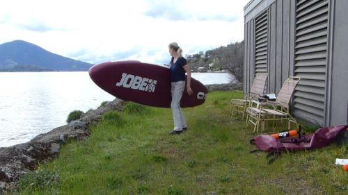 Jobe Aero SUP 11-6 is easy to carry