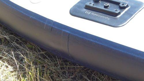 Side rail taping