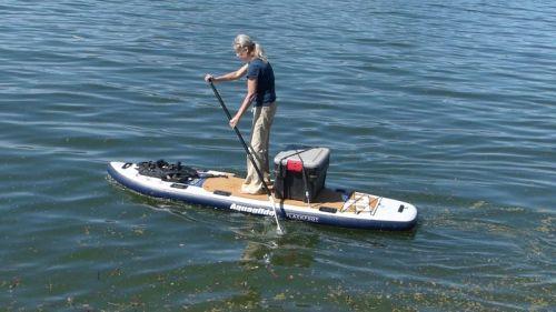 AquaGlide Blackfoot Angler Inflatable Paddle Board