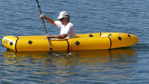 Kokopelli Twain Inflatable Packraft, paddled solo