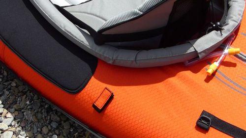 Velcro paddle holders