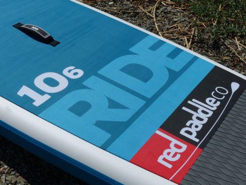 Crocodile print deck pad