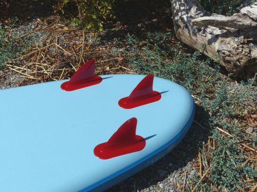 Rugged fixed fins