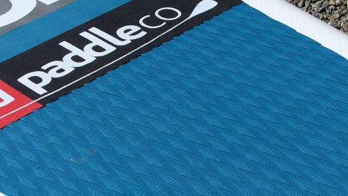 Textured deck pad