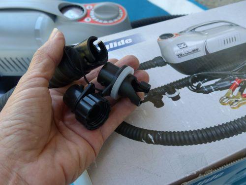 HR and Boston valve adaptors
