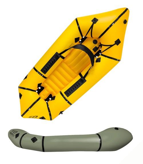 Kokopelli Nrivana Self-Bailing Inflatable Packraft