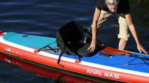 Adding a seat to the Hala Gear Rival Nass