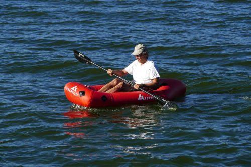 Kokopelli's new XPD Packraft on the water.