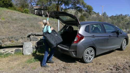 The Navarro 110 easily fits in the trunk of a car.