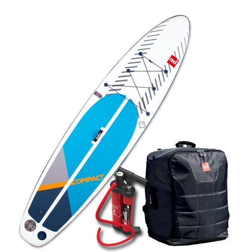 """Red Paddle Co Compact 11'0"""" Sport Inflatable SUP package"""