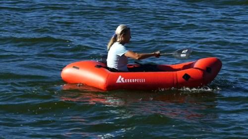Kokopelli XPD Packraft on the water