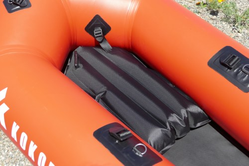 Inflatable seat base