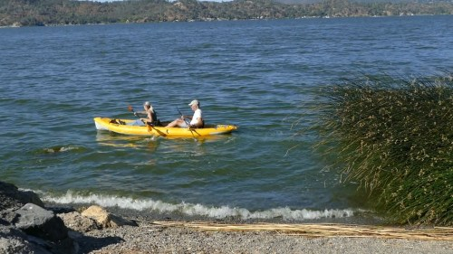 Advanced Elements StraitEdge2 Pro Inflatable Kayak - paddled tandem
