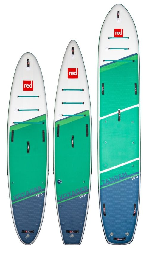 2021 Red Paddle Co Voyager Lineup