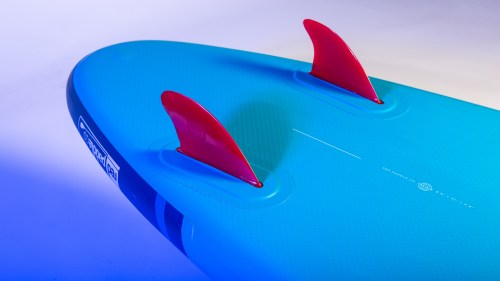 Twin Fin System on Rides