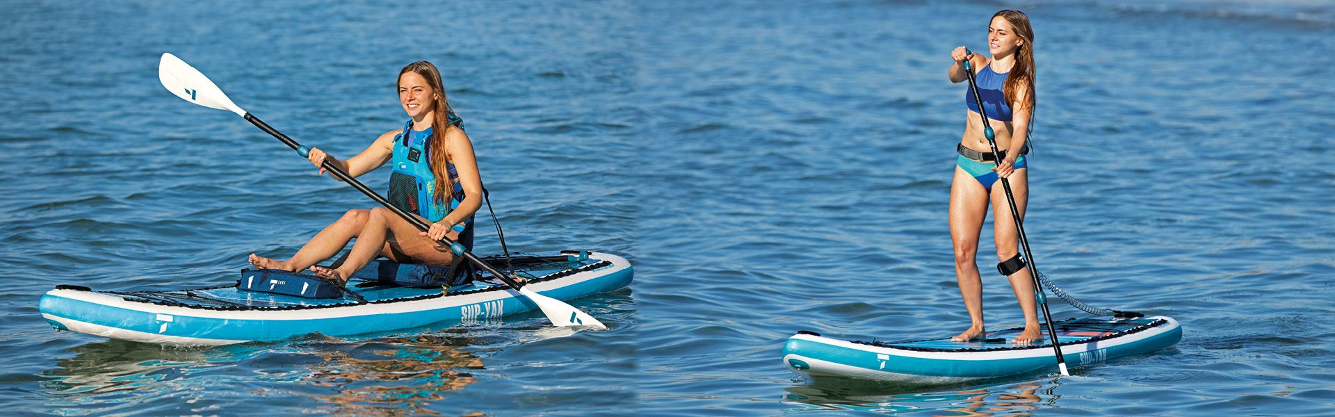 Tahe 10-6 SUP-YAK in both Kayak and SUP Only version