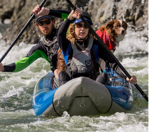 Aire Tomcat Tandem Whitewater Inflatable Kayak