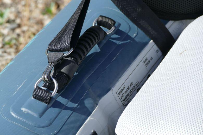 D-rings on side handles