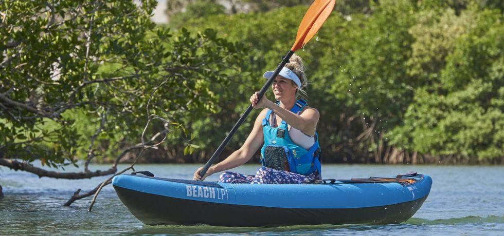 Airkayaks Tahe Beach LP1 Inflatable Kayak Review