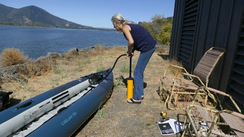 Pumping up the Chelan 155