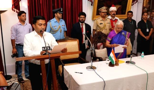 OPPOSITION POLITICAL FRONTS CHALLENGES SWEARING-IN OF NEW GOA CM, DY-CM DURING ELECTION CODE