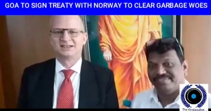 GOA TO SIGN TREATY WITH NORWAY TO CLEAR GARBAGE WOES: GOA GOVT