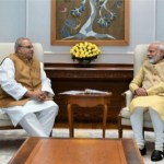 PM NARENDRA MODI, GOA GOVERNOR MALIK REVIEWS STATE AFFAIRS AT DELHI