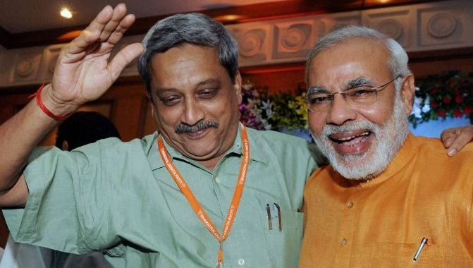 INDIAN PRIME MINISTER, MODI HAD ADVISED MANOHAR PARRIKAR TO TAKE CANCER TREATMENT IN PORTUGAL: BIOGRAPHY