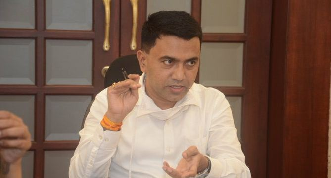 ALMOST ALL COVID 19 HOSPITALS IN GOA ARE FULL.  COVID SPIKED IN GOA AS PEOPLE FLOUTED DISTANCING NORMS WHILE CELEBRATING GANESH CHATURTHI: DR. PRAMOD  SAWANT, GOA CM