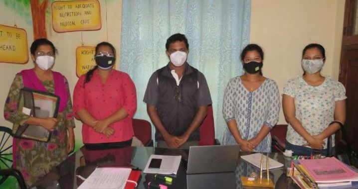 CHILD COMMISSION IN GOA REVIEWS COVID-19 RESPONSE WITH CHILDLINE TEAM